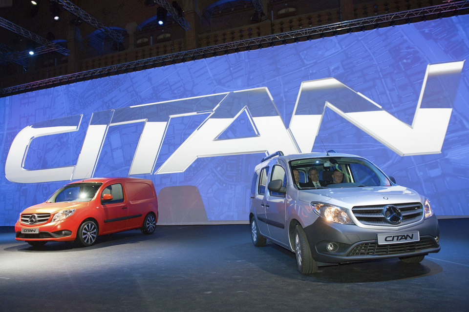 Tri Star Motors >> Mercedes-Benz launch new Citan Mercedes small van UK