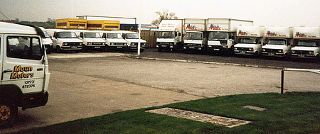 Maun Motors Old Hire Depot at Alfreton Road, Sutton-In-Ashfield