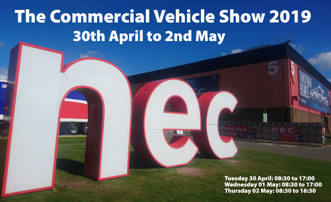 Commercial Vehicle Show at the NEC - CV Show