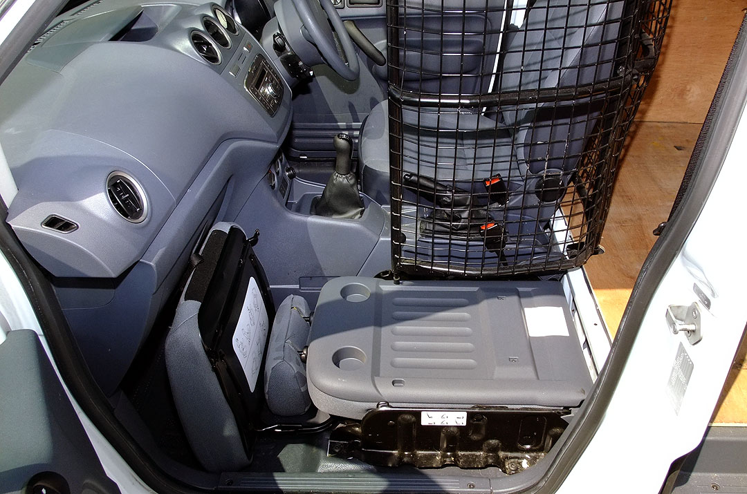 Maun Motors - Ford Transit Connect Drive Safety Cage
